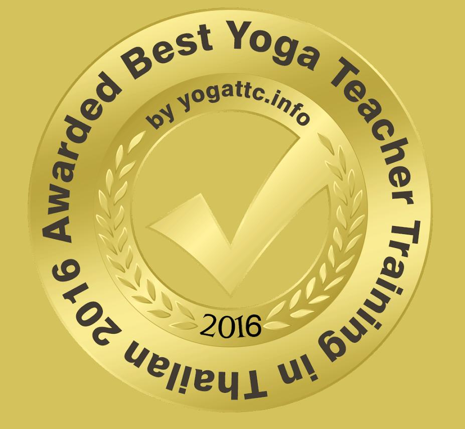Award Samma Karuna Yoga Teacher Training Course Thailand
