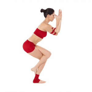 detox with eagle pose
